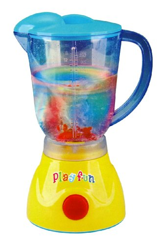 Rainbow Blender Kitchen Appliances Toy for kids with Light Up Swirling Colors