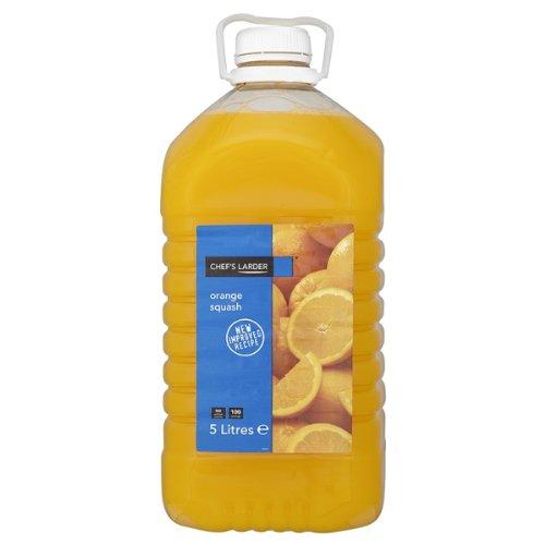 Chefs Larder Orange Squash 1 x 5litre