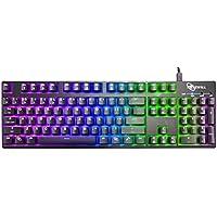 Rosewill RK-9000V2 RGB BR Gaming Keyboard (Cherry RGB Blue)