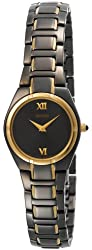 Seiko Women's SUJE76 Dress Black Ion Watch