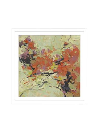 Kim Coulter Dancing Dahlia II Artwork on Framed Paper
