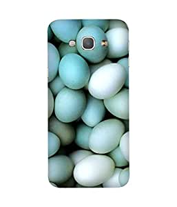 Blue Eggs Printed Back Cover Case For Samsung Galaxy A8