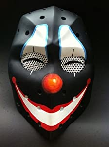 The JOKER Airsoft Hockey mask,Heat mask,Goalie mask,Goalie masks,Goaltender...