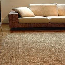 "Area Rugs Jute Natural Boucle Weave Jute Rug (2'6"" x 8')"