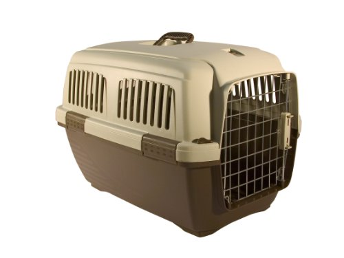 Marchioro Clipper Cayman 3 Pet Carrier, 25-Inches, Tan/Brown