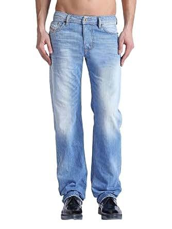 Diesel - Bleu Larkee Regular Straight Jeans - Homme - Taille: W32-L32