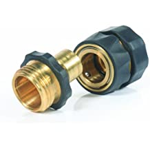 Camco 20133 Brass Quick Hose Connect