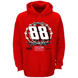 Dale Earnhardt Jr Fan Up Hooded Sweatshirt - 2014 by Checkered Flag
