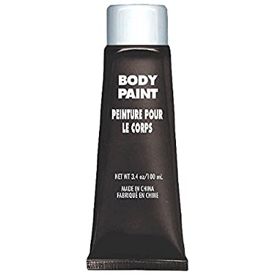 Amscan Party Perfect Team Spirit Body Paint (1 Piece), Black, 8.5 x 4""