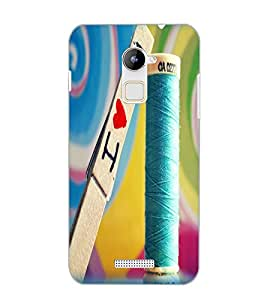 COOLPAD NOTE 3 LITE I LOVE YOU Back Cover by PRINTSWAG
