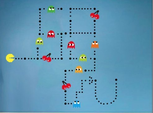 funlife® Pac-man Game Unit DIY Room Decoration Wall Stickers
