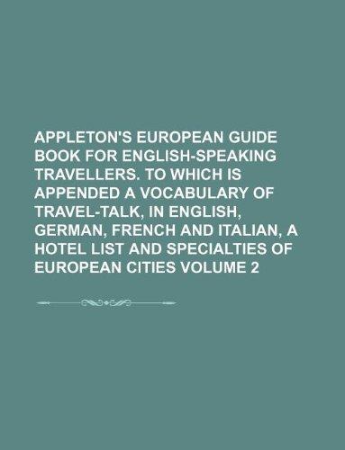 Appleton's European guide book for English-speaking
