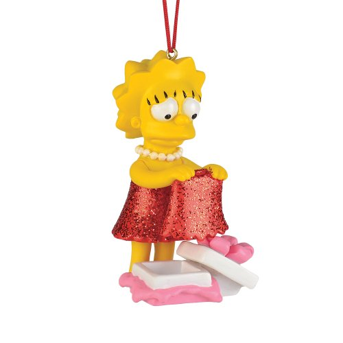 Department 56 The Simpson's from Lisa's New Dress Ornament