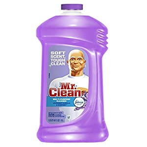 Mr. Clean Multi-surfaces Liquid with Febreze Freshness, Lavender Vanilla and Comfort, 40-Ounce