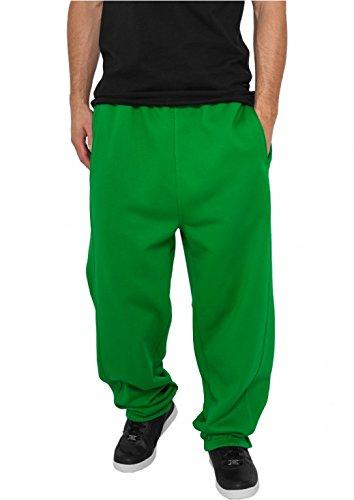 Urban Classics Uomo Abbigliamento Sweatpants - Verde1, L