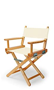 Telescope Casual Child's Director Chair, Natural with Varnish Frame from Telescope Casual Furniture
