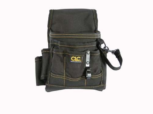 Custom LeatherCraft 1503 Small Electrical Maintenance Pouch (Plumbers Tool Pouch compare prices)
