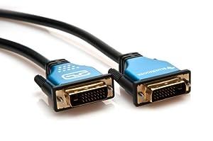 BlueRigger DVI Male to DVI Male Digital Dual-Link Cable (10 Feet, Black)