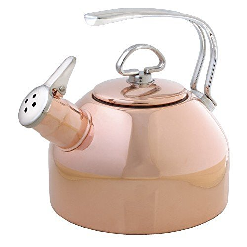 Chantal Copper Classic Teakettle-1.8 Quart (Best Rated Tea Kettle compare prices)