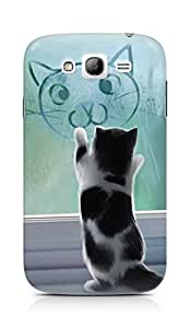 Amez designer printed 3d premium high quality back case cover for Samsung Galaxy Grand i9082 (Cats and Cat)