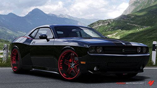 43x24 inch Dodge Challenger Silk Poster AGS6-5B9 (Poster Of Dodge Challenger compare prices)