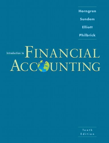 introduction to accounting coursework