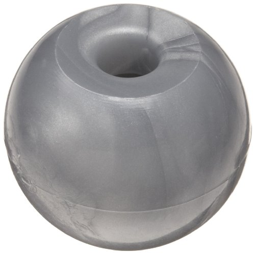 Molecular Models Silver Plastic Metal Monovalent Atom Center, 20mm Diameter (Pack of 25)
