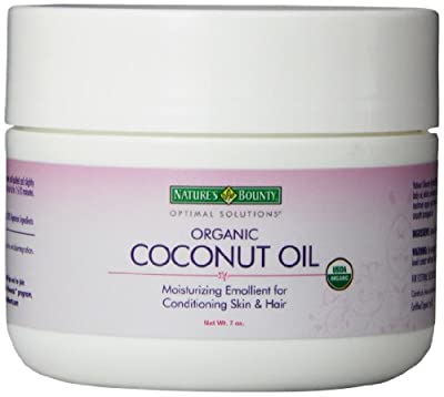 atures Bounty Optimal Solutions Coconut Oil, 7 Ounce