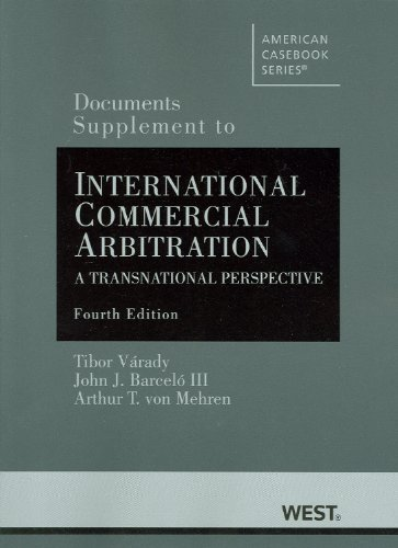 Documents Supplement to International Commercial...