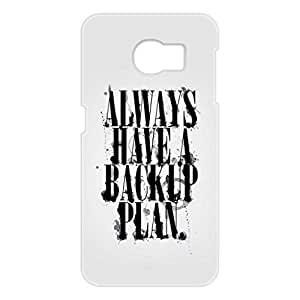 a AND b Designer Printed Mobile Back Cover / Back Case For Samsung Galaxy S6 Edge (SG_S6_3D_2782)