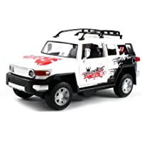 Toyota FJ Cruiser Dancing King Bump & Go Battery Operated Toy Truck W/ Lights & Sounds (Colors May V