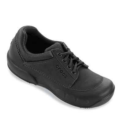 Amazon.com: Crocs - Crocs Velocity Work Shoes - Black/Black - Black