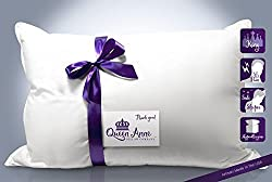 Hypoallergenic Pillow - Exlusive Down Alternative (King Size Soft Pillow) – the Heavenly Down Allergy Free Pillow Only By Queen Anne Pillow Co. – High-end Luxury Hotel Pillows Made in the USA