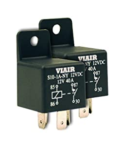 Dual 40-Amp Relay(40A-24V)with Molded Mounting Tab