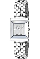 Gucci Women's YA128402 G Frame Stainless Steel Watch