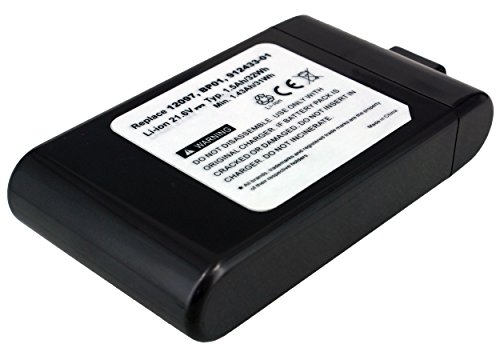21.60V 1500Mah Li-Ion Cleaner Battery For Dyson Dc16, Dc16 Animal, Dc16 Pink, 12097, 912433- 03, 912433-01, 912433-04, Bp01