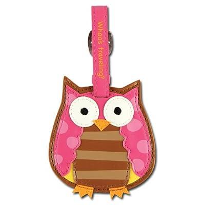Kids Luggage Tag - Stephen Joseph - Owl