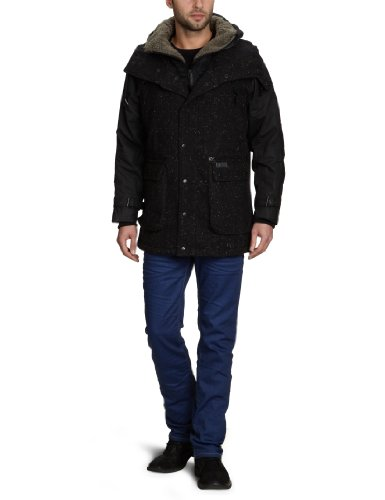 Firetrap Nomad Men's Coat Black Small