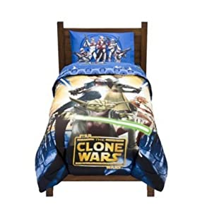 Star Wars Clone Wars Twin Comforter Bed Cover Bedding 80 2