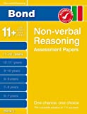Nic Morgan Bond Non-verbal Reasoning Assessment Papers 11+-12+ Years Book 2