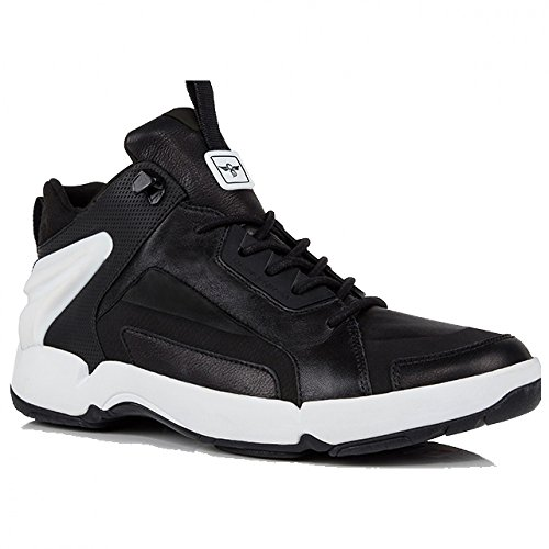 Creative Recreation Nitti Lux Sneakers in Black White 11.5 M US
