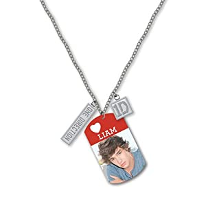 One Direction 16 Tag Necklace - Liam Official 1d Merchandise from Global
