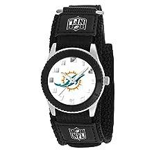 "buy Game Time Unisex Nfl-Rob-Mia ""Rookie Black"" Watch - Miami Dolphins"