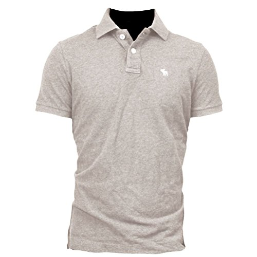 abercrombie-fitch-polo-polo-manga-corta-para-hombre-light-gris-medium