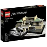 Lego Architecture - 21017 - Jeu de Construction - Imperial Hôtel