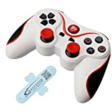 A-szcxtop PS3 6 Axis Doubleshock Bluetooth Gamepad Wireless Rechargeable Game Controller for Playstation 3