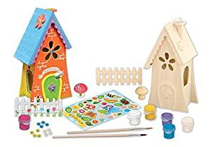 Masterpieces Works of Ahhh Fairy Garden Large Wood Paint Kit