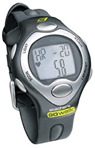 SKECHERS GO WALK SK1 Classic Strapless Heart Rate Monitor with Calorie Counter (Mens; Black)