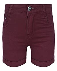 Jazzup Solid Shorts for Girls