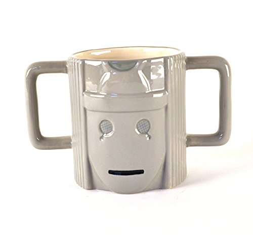Doctor Who Cyberman Head Mug